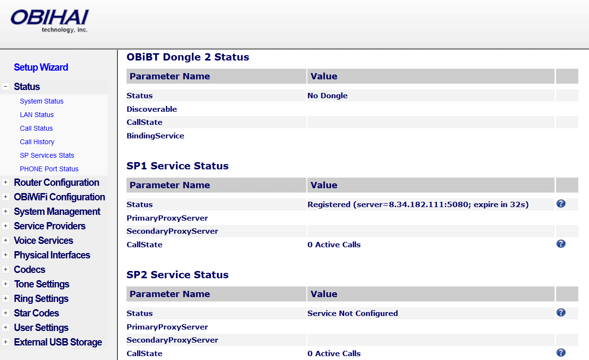 OBi202-System-Status